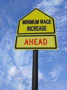 California Minimum Wage Increases to $10 in 2016